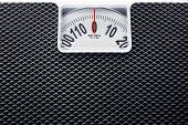 foto of scale  - Weight Scale close up top view  - JPG