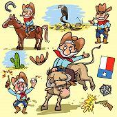 pic of texans  - Cartoon cowboy - JPG