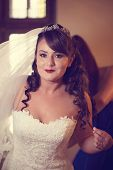 pic of dowry  - Capture of Beautiful bride on her wedding day - JPG