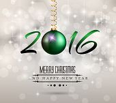 foto of dinner invitation  - 2016 Merry Chrstmas and Happy New Year Background for your dinner invitations - JPG