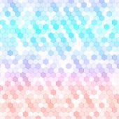 pic of hexagon  - Vector abstract 3d hexagonal - JPG