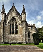 pic of celtic  - The church in Dunkeld has been around a long time  - JPG