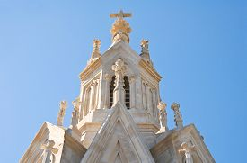 picture of calvary  - Detail of the Calvary Church - JPG