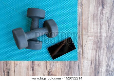 Fitness at home free weights