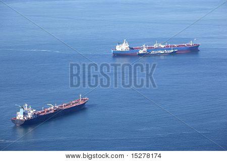 Three Tankers