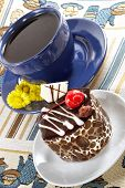 Strong Spring Tea And Cake