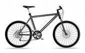 black mountain bicycle