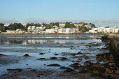 Sandbanks in Poole Dorset England.