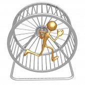 Hamster Wheel Runner