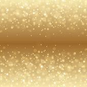 Abstract Golden Light Bokeh Background Vector Illustration. poster