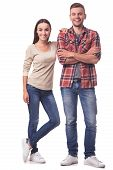 Beautiful Young Couple poster