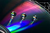 Waterdrops On A Cd
