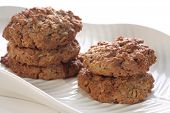 Nutritious oatmeal cookies.