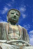 Big Buddha, Daibutsu, in Kamakura, Japan