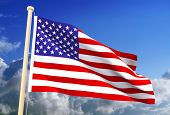 Usa Flag (Clipping Path)