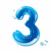 ABC series - Water Liquid Numbers - Number Three