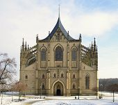 St.Barbara Church in Kutna Hora,