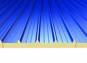 Blue Roof Panels