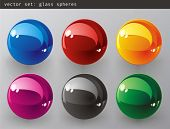 Vector set :  3d Color vector spheres