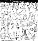 Vector Illustration Set - school