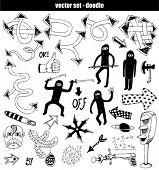 vector set - doodles