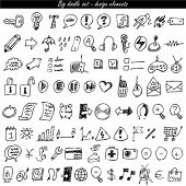 Doodle-Icon-Set - Web & internet