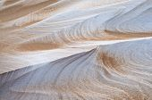 Drifted Sand And Snow