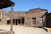 American Western Style Town
