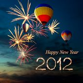 image of new years celebration  - New year 2012 - JPG