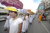 Buddhist Monk Ordination In Thailand