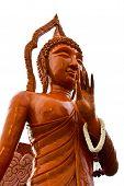 Buddha Wax  Statue  In Candle Festival At Ubonratchathani,  Thailand.