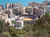 Bullfight Ring In Malaga