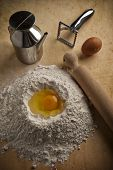fountain of flour