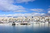 Puerto Banus Marina On Costa Del Sol