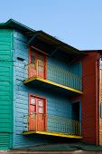 Colorful Houses In