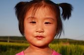 Cute Chinese Little Girl