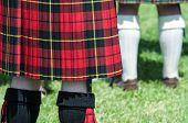 Red And Black Scottish Kilt