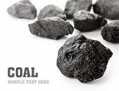 Bultos de carbón