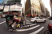 Pedicab in New York