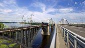 Bridges Over The Dnieper River
