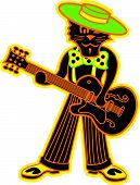 Rockabilly-ClipArt