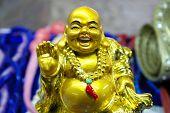 Chinese beeldje Merry Budda