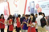 Sales Promotion Girls at Jakarta Photo Expo