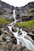 Trollfossen in Norway