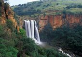 picture of eland  - Elands River Falls in Mpumalanga state of South Africa - JPG