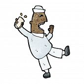 cartoon drunken sailor