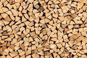 wood log