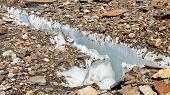 Crevasse At Baltoro Glacier