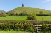 Glastonbury Somerset Engeland UK