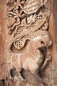 Ornate Stonework On Ishak Pasha Palace, Turkey
